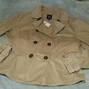 New Gap peplum back jacket
